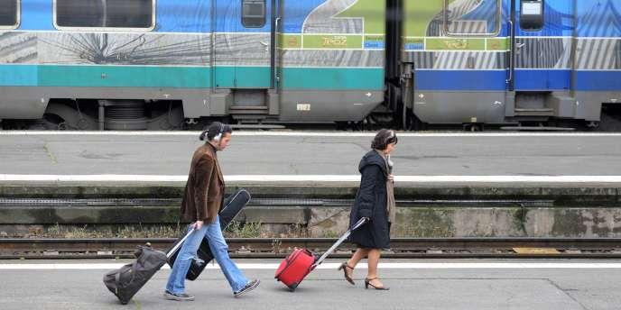 Le trafic des trains Corail devrait être assuré à hauteur de 2 trains sur 3 en moyenne.