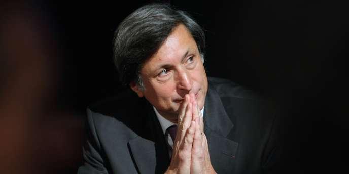 L'ancien président de France Télévisions Patrick de Carolis, le30octobre2008.