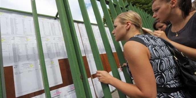 Les premiers résultats du baccalauréat sont attendus vendredi 4 juillet.