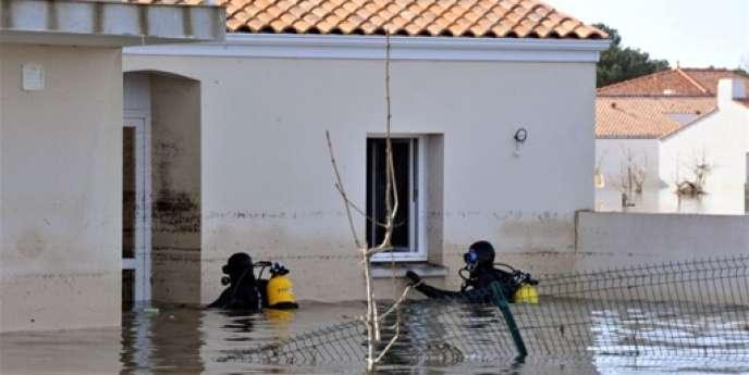 La tempête a provoqué des inondations et la mort de 47 personnes sur la façade atlantique dans la nuit du 27 au 28 février 2010.
