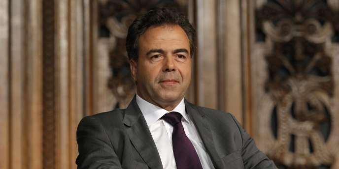 Luc Chatel, ministre de l'éducation nationale, le 8 avril.