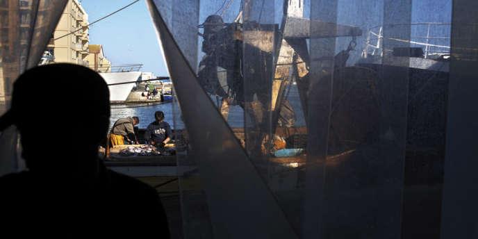 Sète est le premier grand port français de pêche en Méditerranée.