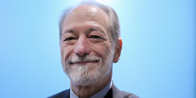 Jean-François Roverato, le 26 février 2010, lors d'une conférence de presse à Paris.