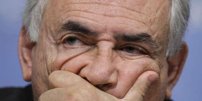 Dominique Strauss-Kahn, l'actuel directeur du Fonds monétaire international.