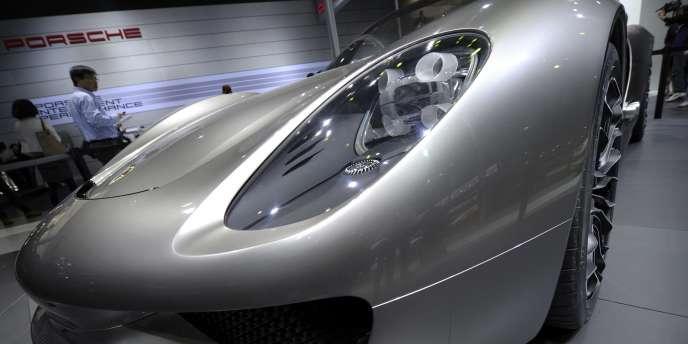 Sans surprise, Porsche arrive en tête des constructeurs allemands les plus motorisés.