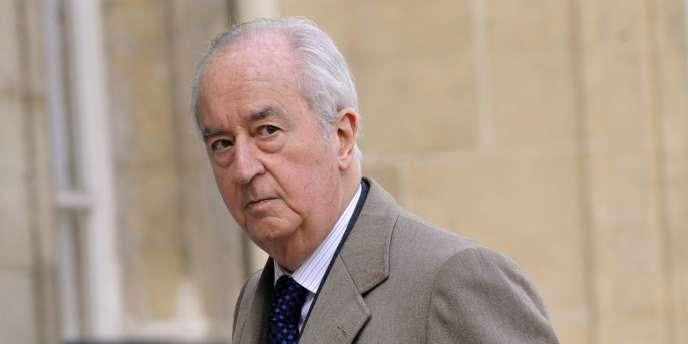 L'ancien premier ministre Edouard Balladur à Paris en mars 2009.
