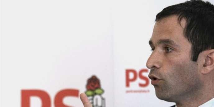 Le porte-parole du Parti socialiste, Benoît Hamon.