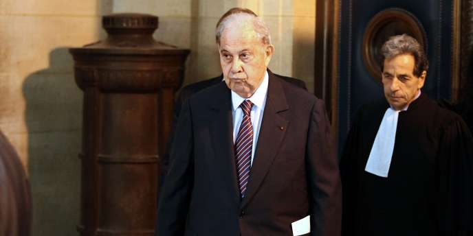 L'ancien ministre de l'intérieur Charles Pasqua est soupçonné de