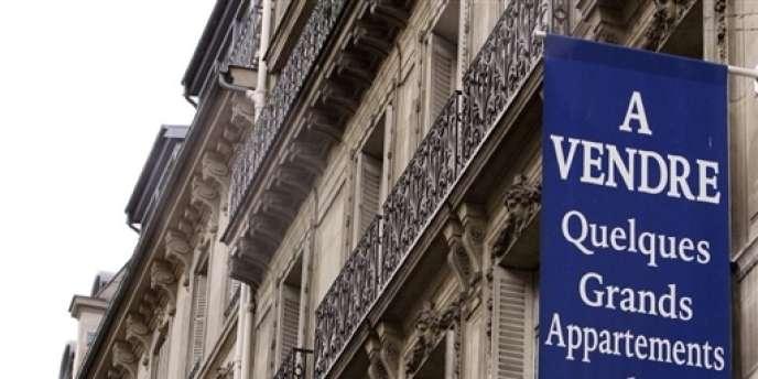 Appartements à vendre à Paris.