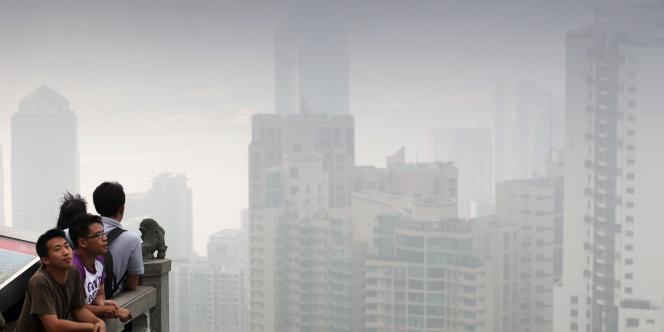 Hong Kong, en mai 2010