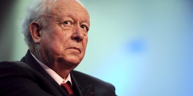 Jean-Claude Gaudin, sénateur et maire UMP de Marseille.