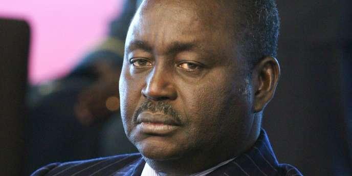 François Bozizé, lors du 24e sommet Afrique-France, à Cannes, le 16 février 2007.