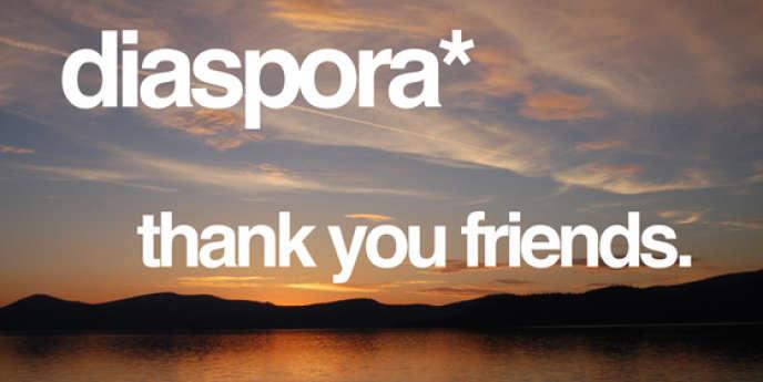 Message publié sur le blog du projet Diaspora.