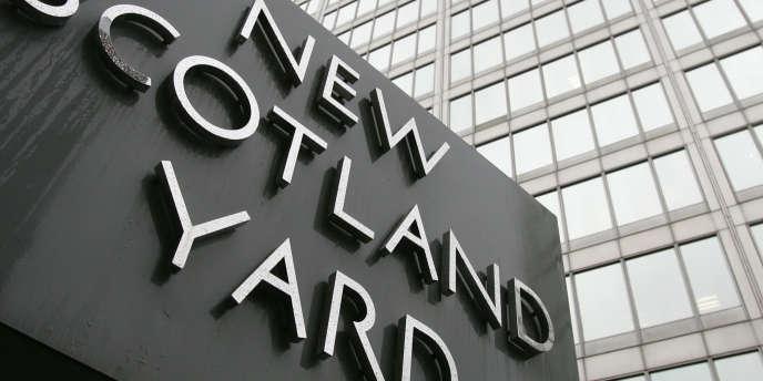 Les bureaux de Scotland Yard à Londres.
