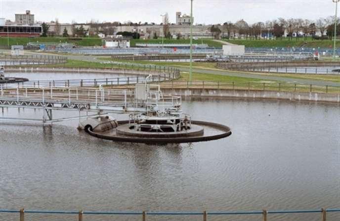 Quelques mois avant la rénovation de a station de traitement des eaux