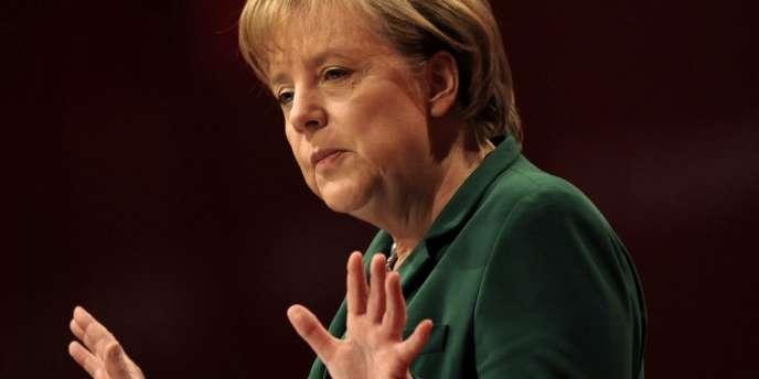 La chancelière allemande, Angela Merkel, le 16 mai à Berlin.