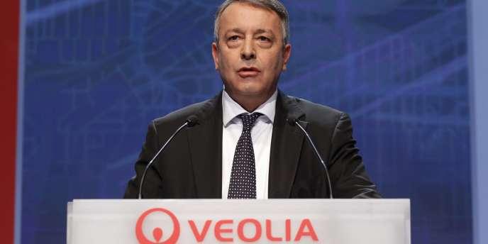 Antoine Frérot, PDG de Veolia, en mais 2010.