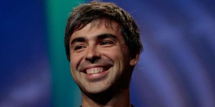 Larry Page, cofondateur de Google.