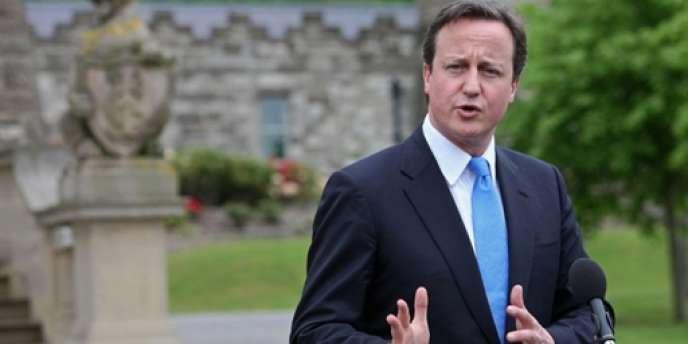 Le premier ministre britannique David Cameron, en mai 2010.