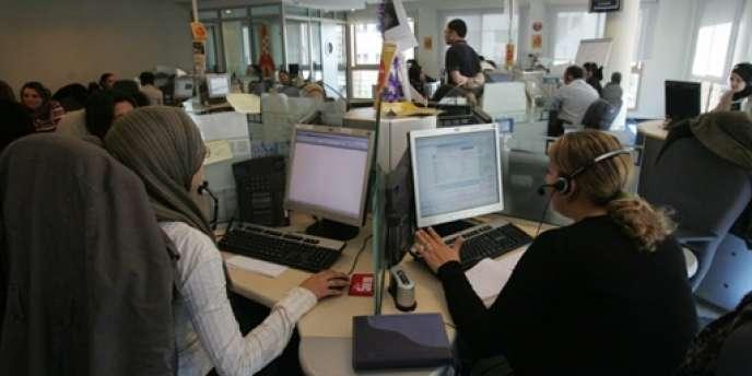 Le leader mondial des centre d'appel emploie plus de cinq mille personnes en Tunisie.
