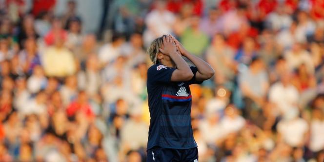 Malgré les efforts de Louisa Necib, les Lyonnaises n'ont pas réussi à s'imposer contre les joueuses de Potsdam en finale de la Ligue des champions.