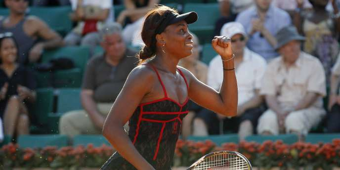 Venus Williams, le 23 mai 2010 à Roland Garros.