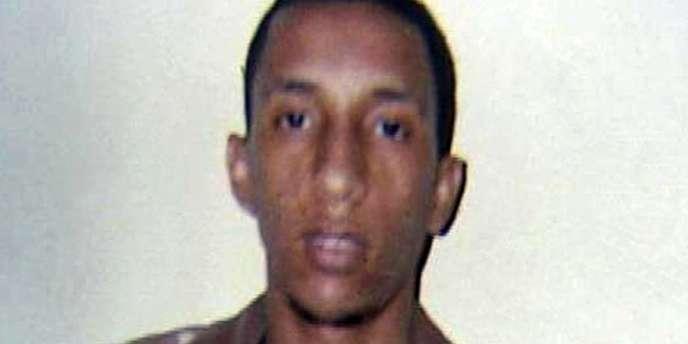 Sidi Ould Sidna, 22 ans, un des trois accusés condamnés à mort pour l'assassinat de quatre touristes français en 2007.