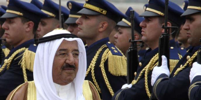 Le Cheikh Sabah Al-Ahmad Al-Jaber Al-Sabah, émir du Koweït.