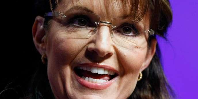 Sarah Palin, l'ex-gouverneur de l'Alaska, le 23 mai 2010, à Las Vegas.