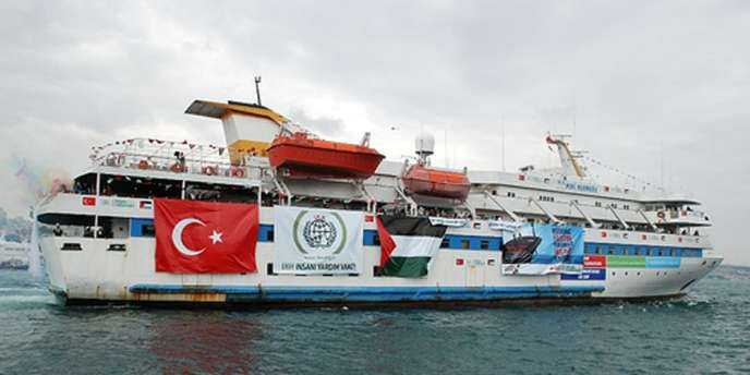 L'assaut d'une flottille internationale humanitaire avait fait neuf morts en mai 2010.