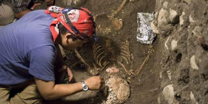 Emiliano Gallaga, le 17 mai 2010, dans l'Etat du Chiapas, au sud-ouest du Mexique.