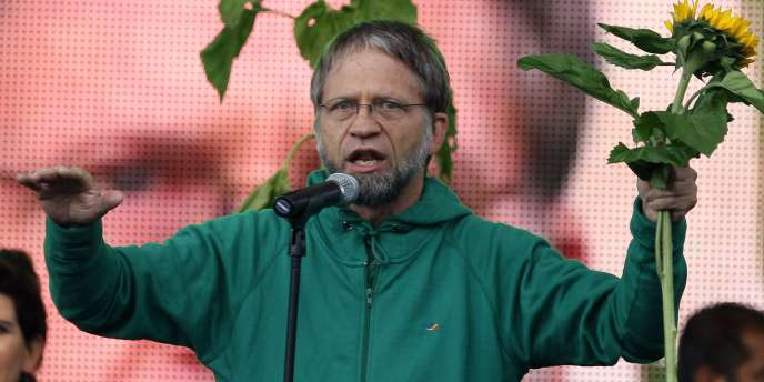 Antanas Mockus espère incarner le changement en Colombie.