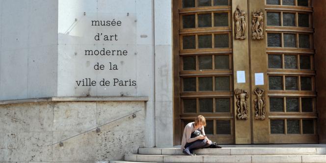 Vue du Musée d'art moderne de la Ville de Paris, le 20 mai 2010.
