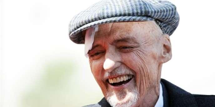L'acteur américain Denis Hopper, ici en mars 2010, est mort, samedi 29 mai, à l'âge de 74 ans.