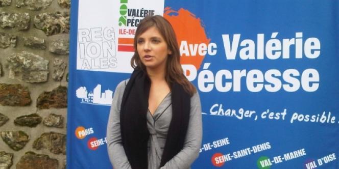 Aurore Bergé, porte-parole des Jeunes Populaires et candidate face à Benjamin Lancar.