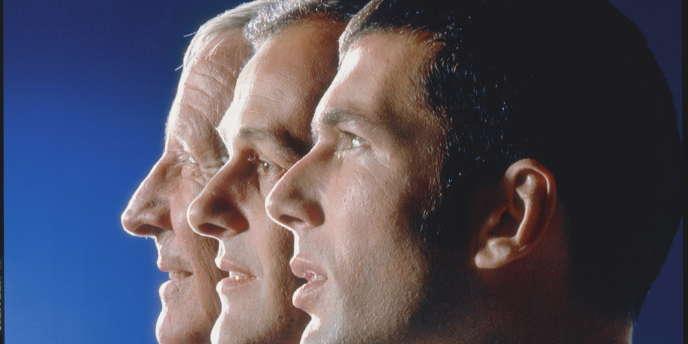 Raymond Kopa, Michel Platini et Zinedine Zidane.