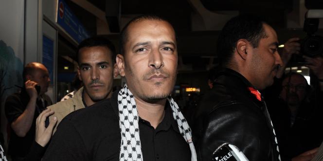 Salah Berbagui, 38 ans, responsable du Comité de bienfaisance et de secours aux Palestiniens de Lyon.