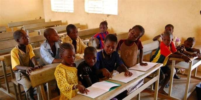 Une école au Burkina Faso en juin 2009.
