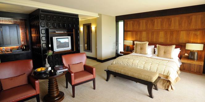Une chambre du Pezula Resort Hotel, à Knysna.