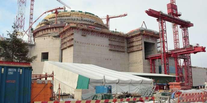 L'EPR d'Olkiluoto 3 (OL 3), le réacteur nucléaire de troisième génération construit en Finlande.