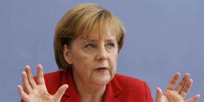 La chancelière Angela Merkel doit faire face à des désaccords au sein de sa majorité sur la question du nucléaire.