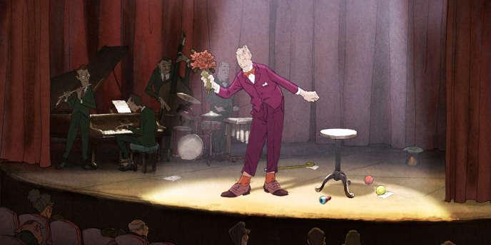 Une scène du film d'animation français de Sylvain Chomet,