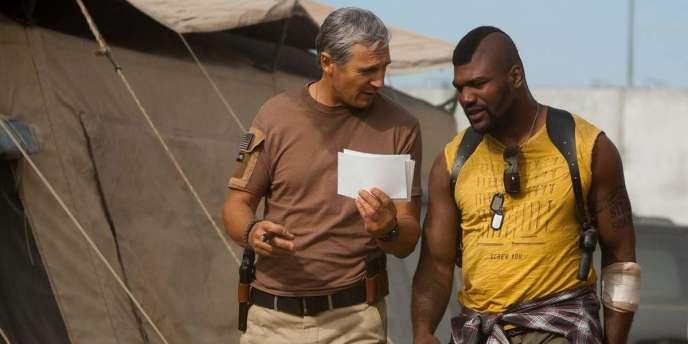 Liam Neeson et Quinton 'Rampage' Jackson dans le film américain de Joe Carnahan,