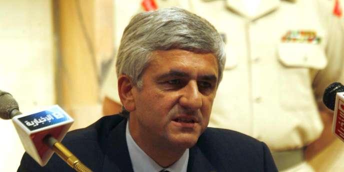 Hervé Morin, ministre de la défense et patron du Nouveau Centre.