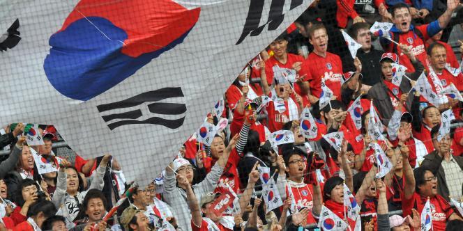 Les fans sud-coréens rêvent de voir leur équipe renouveler l'exploit de 2002 lors du Mondial sud-africain.