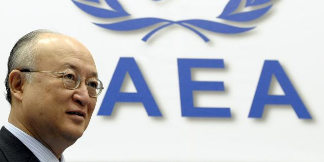 Yukiya Amano, le directeur général de l'AIEA, en juin 2010.