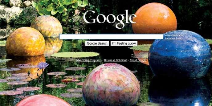 Un exemple de une personnalisée, proposée par Google par défaut pendant quelques heures jeudi.