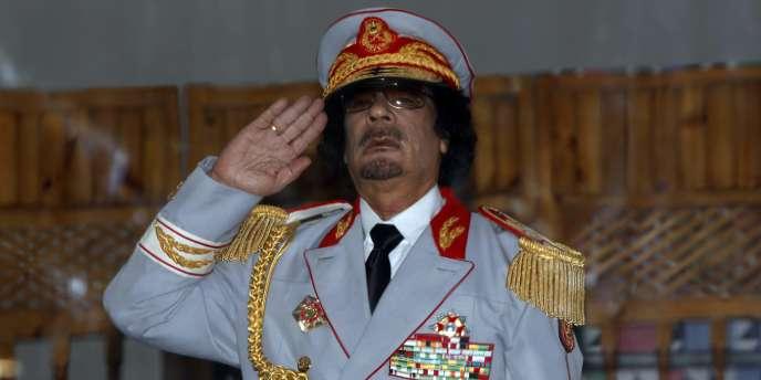 Mouammar Kadhafi le 12 juin.