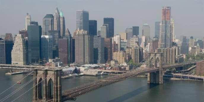 New York vu de Brooklyn.