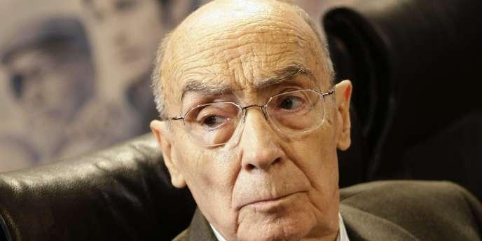 Jose Saramago, le 3 mars 2009.